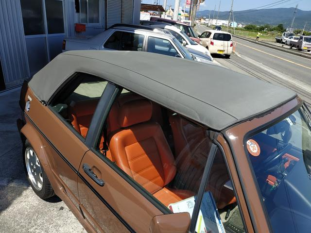 「フォルクスワーゲン」「ゴルフカブリオ」「オープンカー」「徳島県」の中古車15