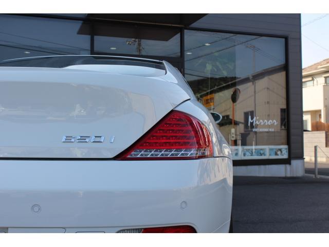 BMW BMW 650i SMG ベージュレザーシートサンルーフ 左ハンドル