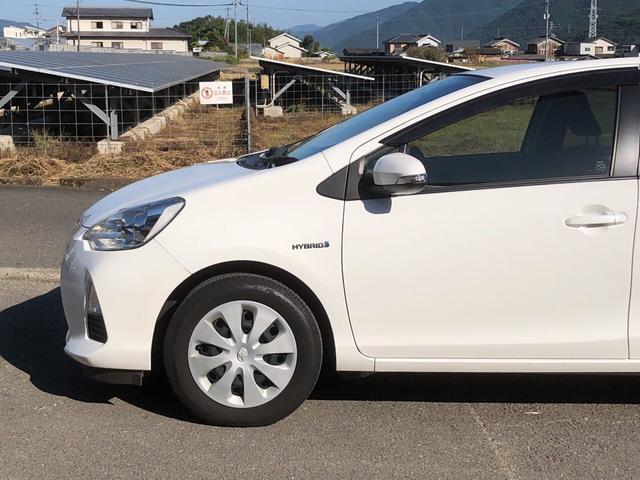 「トヨタ」「アクア」「コンパクトカー」「徳島県」の中古車45