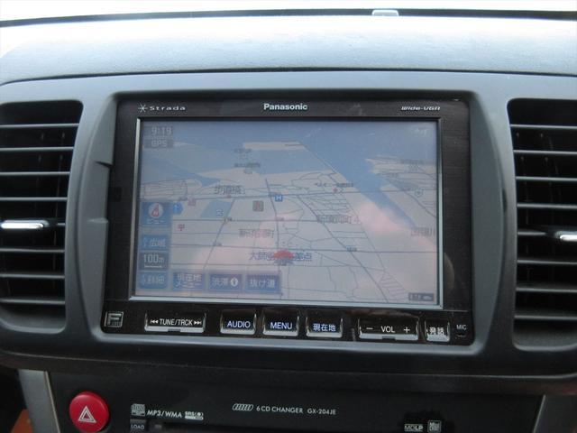 純正オプションのHDDナビ装備、TVも見られます!