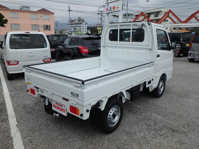 スズキ キャリイトラック KCエアコン・パワステ農繁仕様 3方開 4WD 5MT