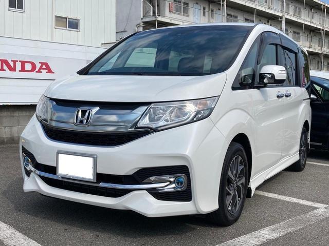 スパーダ Honda SENSING メモリーナビ 地デジ Bluetooth接続 DVD再生 バックカメラ ETC LEDヘッドライト クルーズコントロール(4枚目)