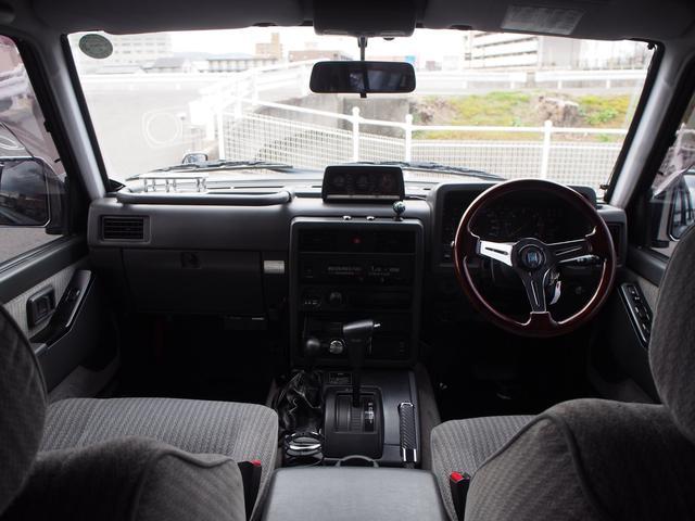 日産 サファリ グランロード リフトアップ HIDヘッドライト ETC