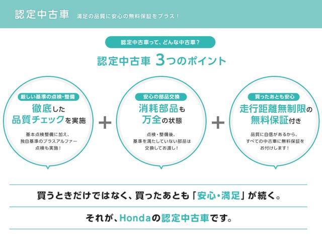 Fパッケージ メモリーナビ ホンダセンシング ワンセグTV(36枚目)