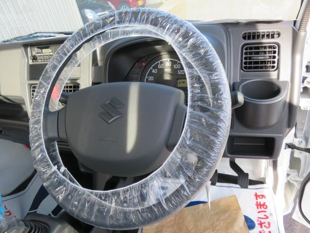 KCエアコンパワステ 農繁仕様 届出済未使用車2段切替4WD(15枚目)