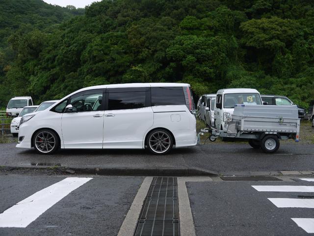 Gi WORK19インチAW 両側パワスラ 新品タナベ車高調(2枚目)