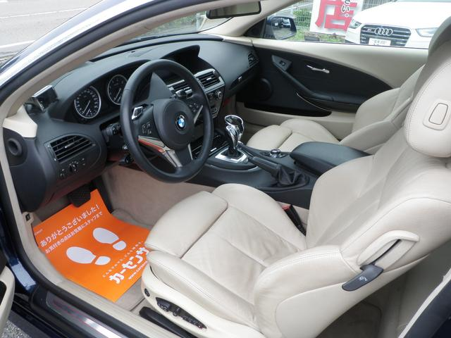 BMW BMW 650i1オーナー最終型 新型iドライブ 全記録ディーラー