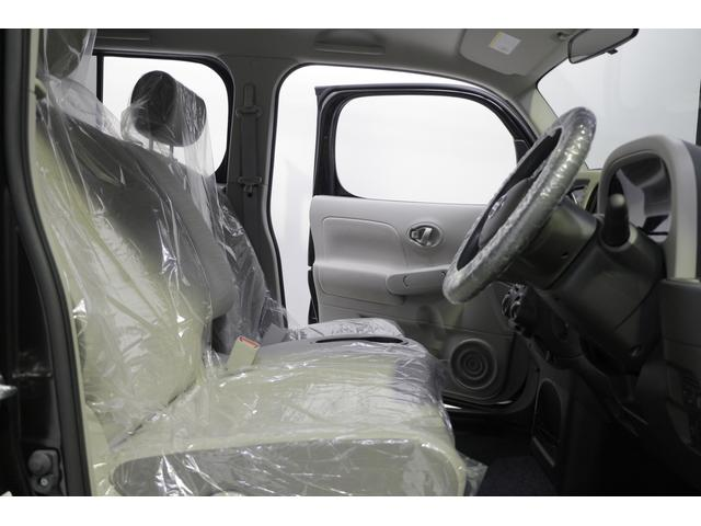 日産 キューブ 15X 未使用車 スマートキー ベンチシート