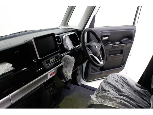 スズキ スペーシアカスタム HVXS届出済未使用車 自動ブレーキ 両側電動ドア 15AW