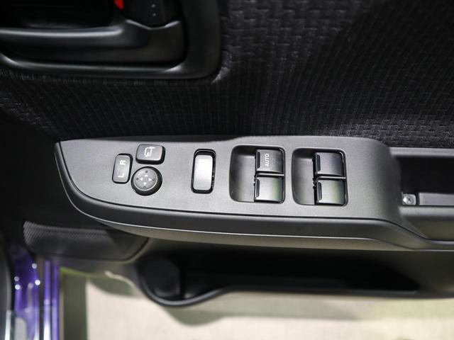 狭い駐車場で大活躍!ボタン1つで自動で格納します。ひと手間が減る嬉しい機能です♪