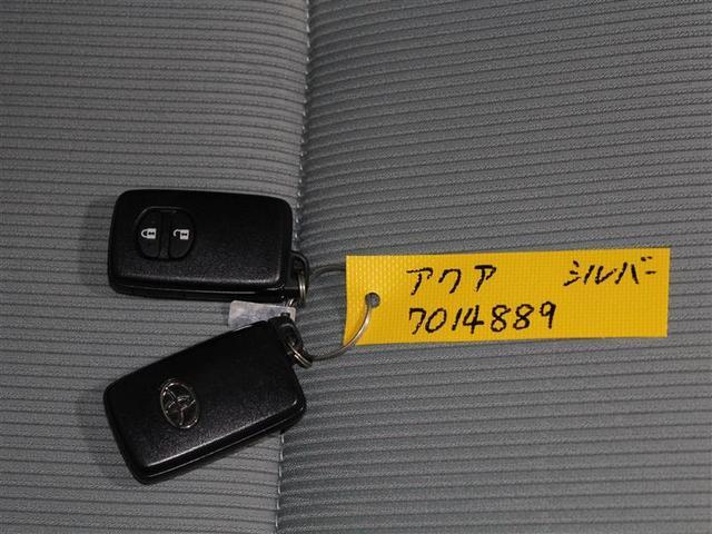 トヨタ アクア S スマートキー イモビライザー 純正アルミ