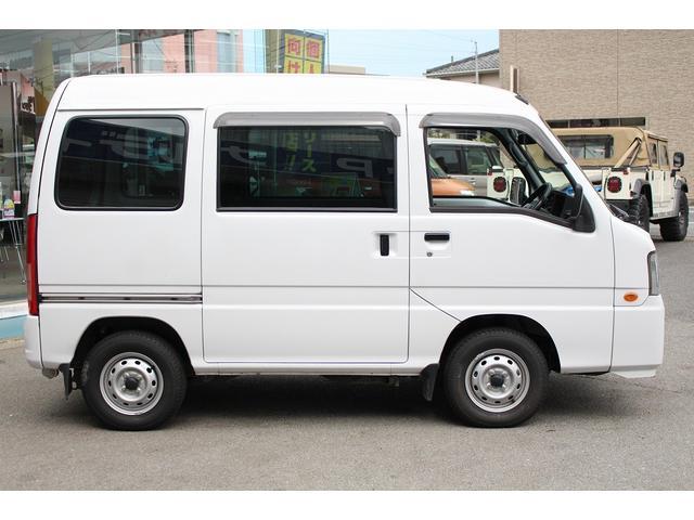 スバル サンバーバン トランスポーター マニュアル エアコン ベンチシート付
