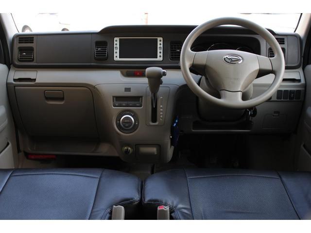 車内は非常に使い勝手のいい空間になっています。