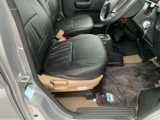 Lターボ 買取車・社外アルミ・ウッドインテ・革調シートカバー(19枚目)