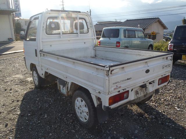 ホンダ アクティトラック アタック 4WD デフロック