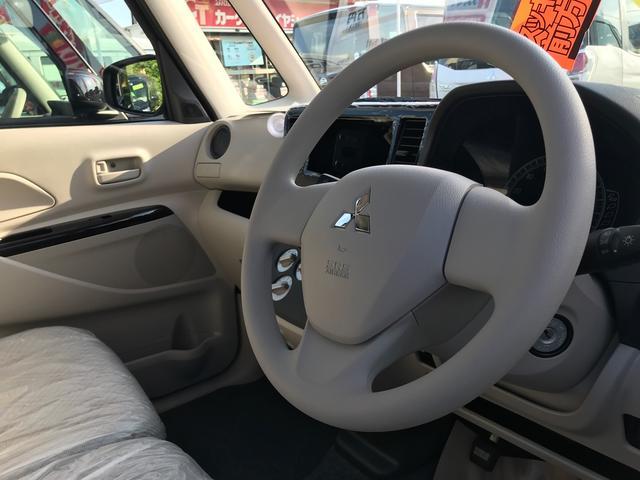 M 軽自動車 インパネAT エアコン 届出済未使用車(11枚目)