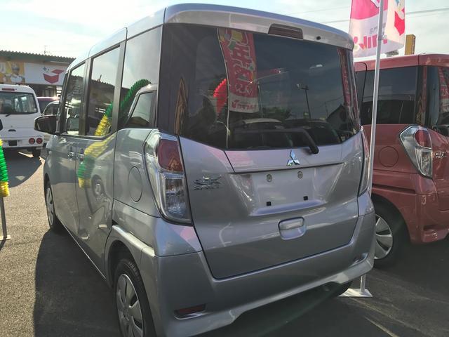 M 軽自動車 インパネCVT エアコン 届出済未使用車(10枚目)