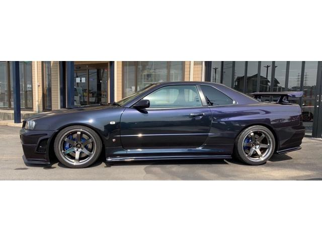 GT-R ミッドナイトパープルII Vスペ仕様 限定300台(3枚目)