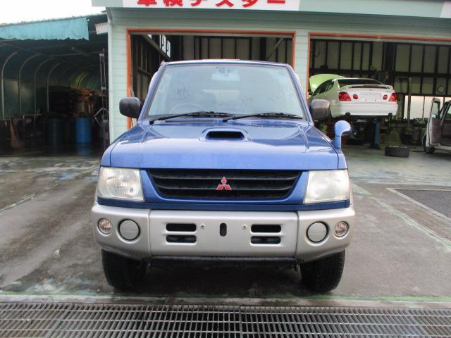 三菱 パジェロミニ V 4WD ターボ ETC キーレス
