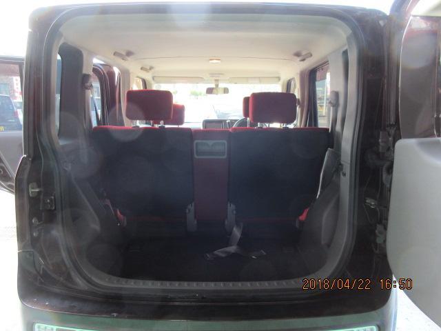 日産 キューブ 14S カガヤキエディションプラスナビHDD
