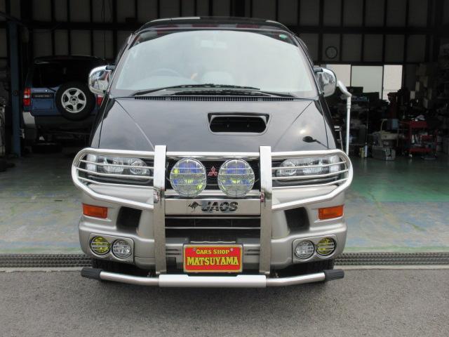 三菱デリカスペースギア シャーモニー 4WD 2800ディーゼルターボ オートマ 禁煙車 8人乗り 内外装機関共に状態良好です