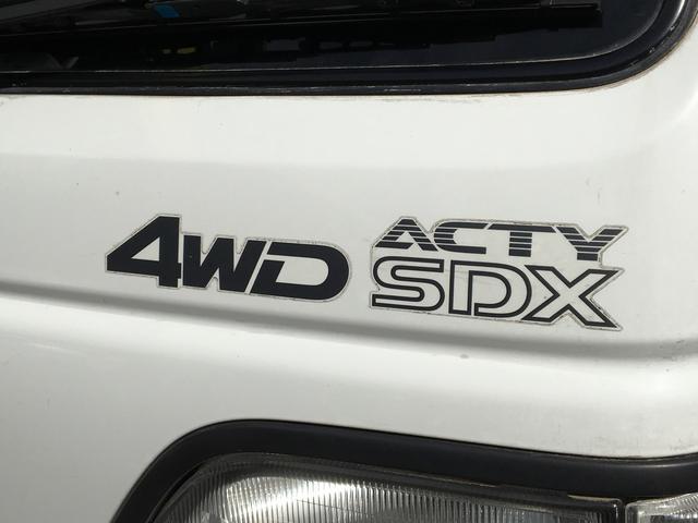 SDX 4WD 5速ミッション 三方開 鳥居(7枚目)