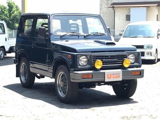 スズキ ジムニー ワイルドウインドリミテッド 4WD 5MT 社外ウッドH