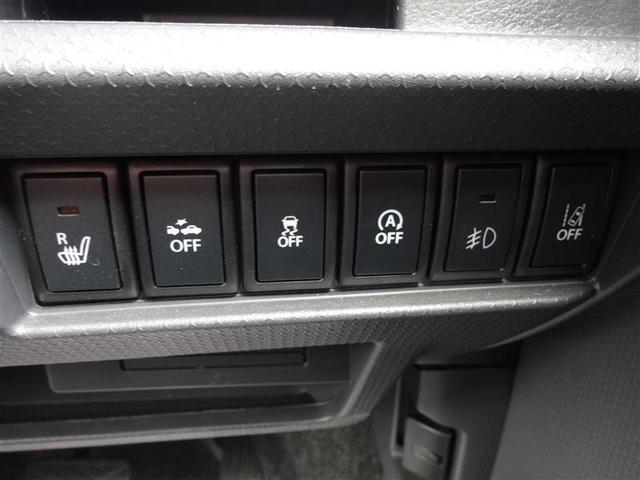 運転席シートヒータースイッチ+セーフティサポート(安全機能)スイッチ
