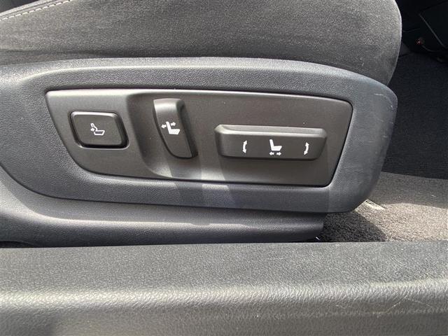 10Way調整式パワーシート(運転席・助手席)