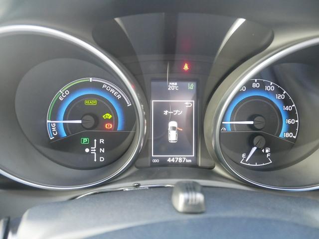 ハイブリッドGパッケージ 純正ナビ バックモニター ETC プッシュスタート トヨタセーフティセンス シートヒーター付き(11枚目)