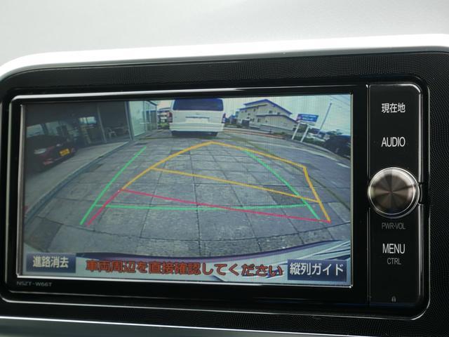 バックモニター(黄色いガイドラインのお陰で、駐車がしやすいです)