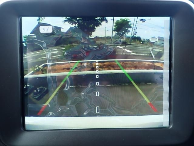 バックモニターで駐車をアシスト!