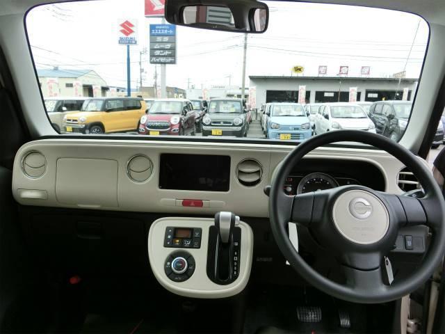 ダイハツ ミラココア ココアプラスX バックカメラ付 届出済未使用車