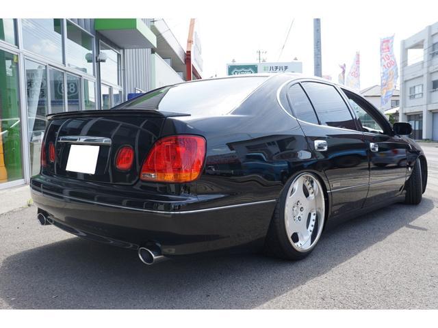 S300ベルテックスエディション 社外ナビ 車高調(7枚目)