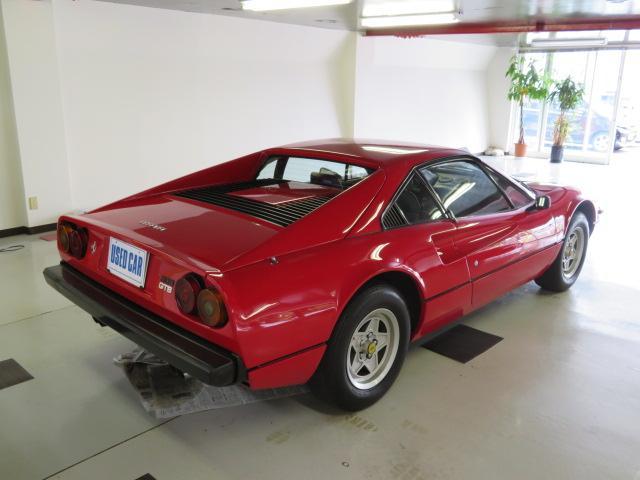 フェラーリ フェラーリ 308 GTB コーンズディーラー車 本革シート