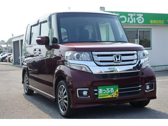 「ホンダ」「N-BOXカスタム」「コンパクトカー」「徳島県」の中古車6