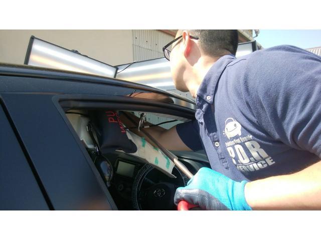 【デントリペア】お車にできてしまった小さなヘコミ、安く・早く・きれいに直します。