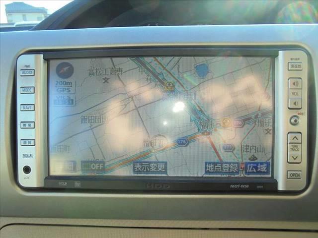 トヨタ ポルテ 150r 純正HDDナビ バックモニター DVD再生