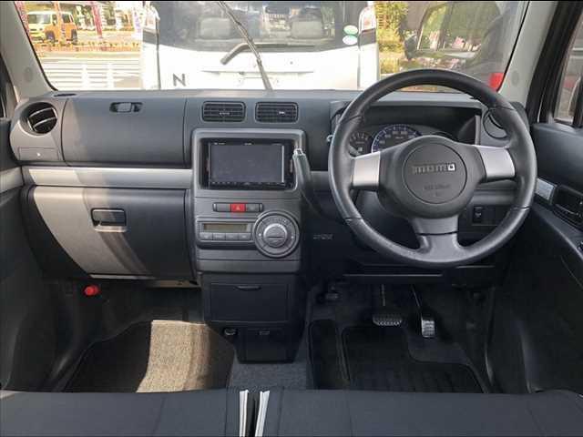 カスタム RS 後期 ターボ 社外HDDナビ フルセグ DVD再生 スマートキー MOMOステアリング HIDヘッドライト 電格ウインカーミラー 純正15インチAW シートリフター アームレスト WSRSエアバッグ(4枚目)