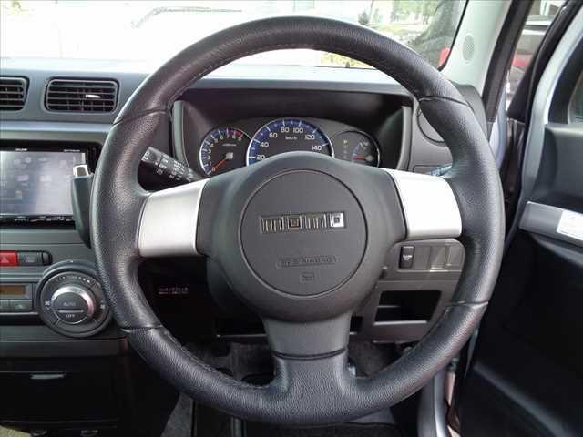 カスタム RS 後期 ターボ 社外HDDナビ フルセグ DVD再生 スマートキー MOMOステアリング HIDヘッドライト 電格ウインカーミラー 純正15インチAW シートリフター アームレスト WSRSエアバッグ(15枚目)