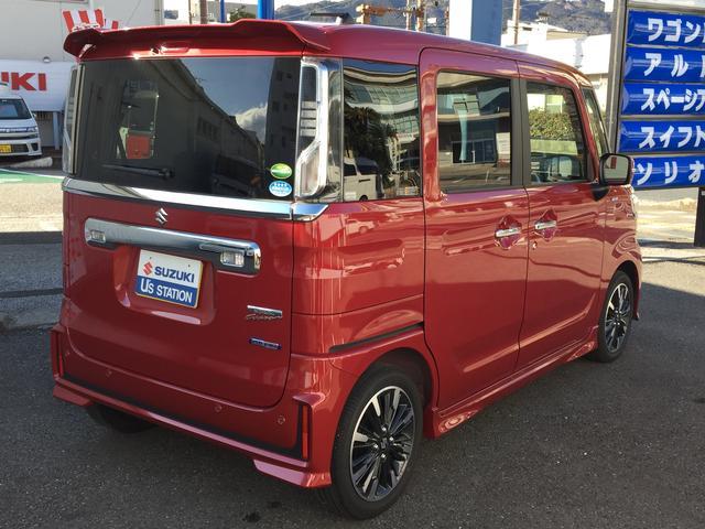 「スズキ」「スペーシアカスタム」「コンパクトカー」「高知県」の中古車11