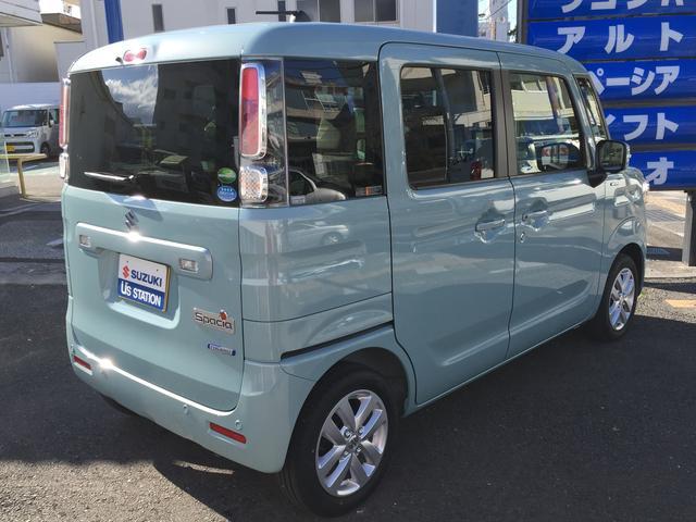 「スズキ」「スペーシア」「コンパクトカー」「高知県」の中古車9