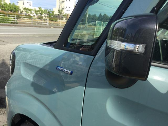 ハイブリッドXZ 届出済未使用車/LEDヘッドランプ/LEDフォグランプ/左側電動スライドドア/スリムサーキュレーター/ロールサンシェード/後席右側テーブル/シートヒーター/USBソケット/スズキセーフティサポート(25枚目)