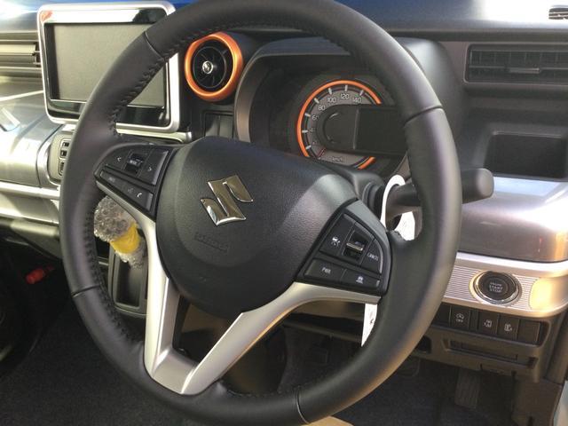 ハイブリッドXZ 届出済未使用車/LEDヘッドランプ/LEDフォグランプ/左側電動スライドドア/スリムサーキュレーター/ロールサンシェード/後席右側テーブル/シートヒーター/USBソケット/スズキセーフティサポート(39枚目)