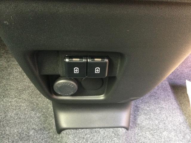 ハイブリッドXZ 届出済未使用車/LEDヘッドランプ/LEDフォグランプ/左側電動スライドドア/スリムサーキュレーター/ロールサンシェード/後席右側テーブル/シートヒーター/USBソケット/スズキセーフティサポート(48枚目)