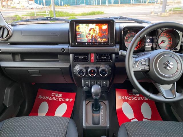 JC 8インチSDナビ ディーンクロスカントリーマーガレットホワイト タイヤホワイトレター フロントグリル ラゲッジマット ETC フルセグTV Bluetooth CD録音 DVD マット ドアバイザー(2枚目)