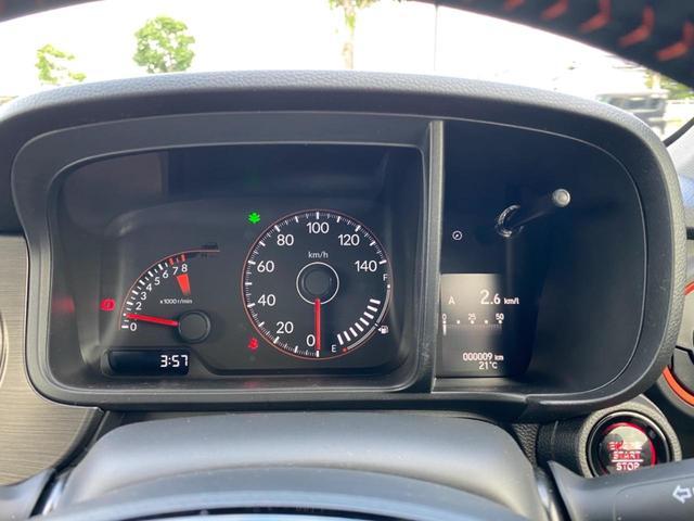 RS 6MT ターボ 届出済み未使用車 OP白ルーフ ボディーコーティング(5年間保証)バックカメラ フロアマット ドアバイザー フルLEDヘッドライト クリアランスソナー オートパーキングブレーキ USB(31枚目)