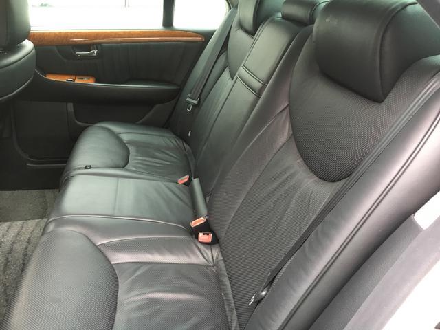トヨタ セルシオ C仕様 Fパッケージ インテリアセレクション 黒革サンルーフ