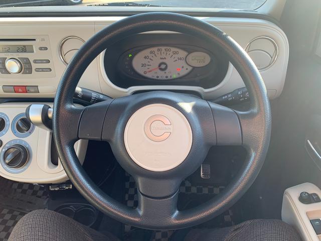 ココアプラスL ワンオーナー 純正CDオーディオ ETC ルーフレール オートライト フォグ 電格ウインカーミラー キーレス レベライザー フロアマット バイザー(14枚目)