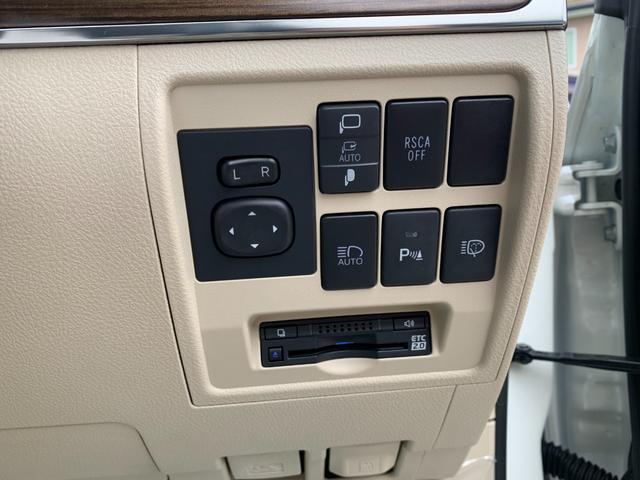 ZX ワンオーナ SDマルチ クールBOX BSM サンルーフ パワーバックドア ルーフレール マルチテレインモニター 寒冷地仕様 リヤエンター モデリスタエアロ ヘッドランプクリーナー LDA 本革シート(24枚目)